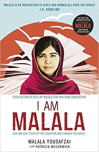 book cover : I am Malala