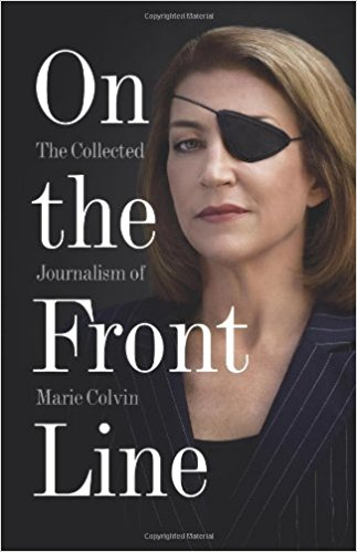 book cover : On The Front Line
