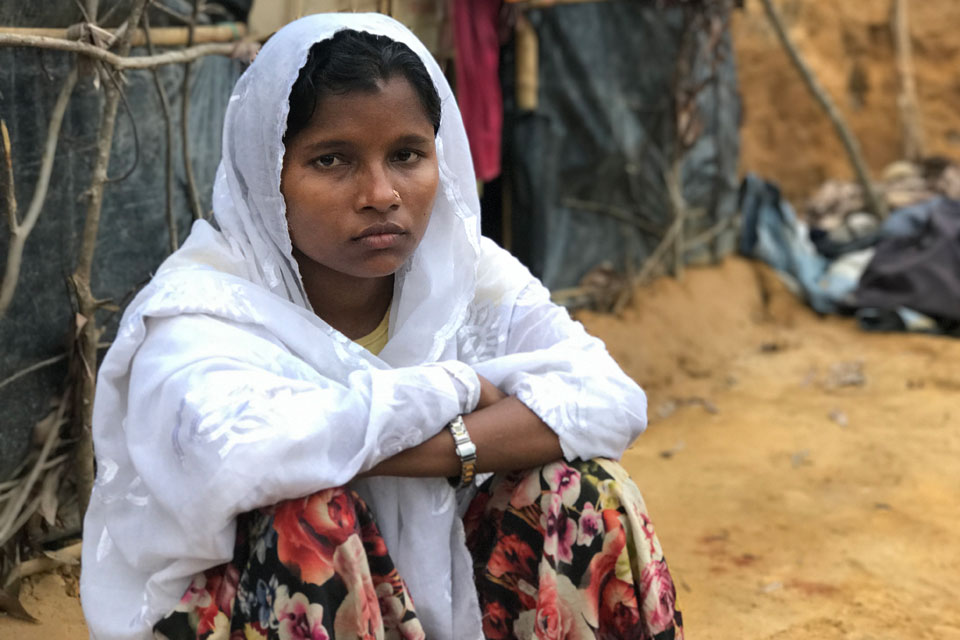 Jamalida Begum (Myanmar/Bangladesh):  A Brave Voice Refusing To Be Silenced